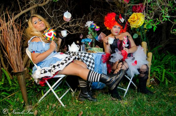 Alice and Wonderland with a Twist