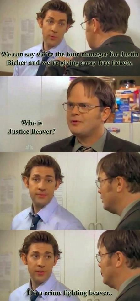 Pretty sure I've already pinned something like this, but it's funny every time! I love The Office!