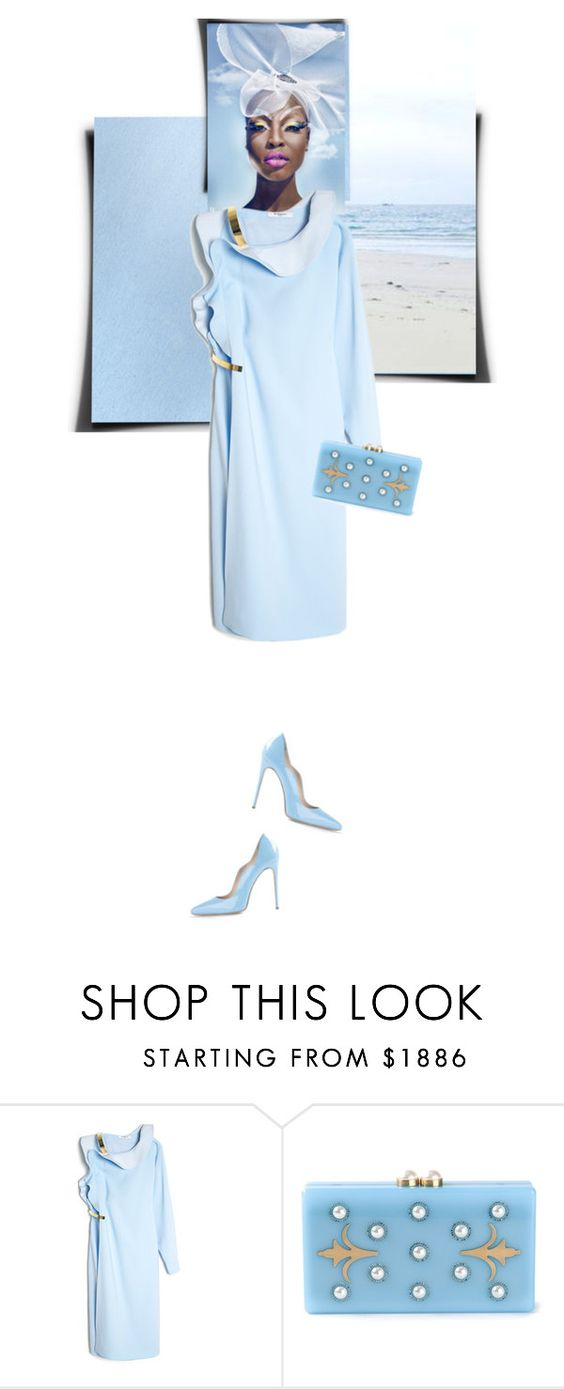 """Summer Ruffle"" by linea-prima ❤ liked on Polyvore featuring Givenchy, Thalé Blanc, Gianmarco Lorenzi, ruffles and summer2014"