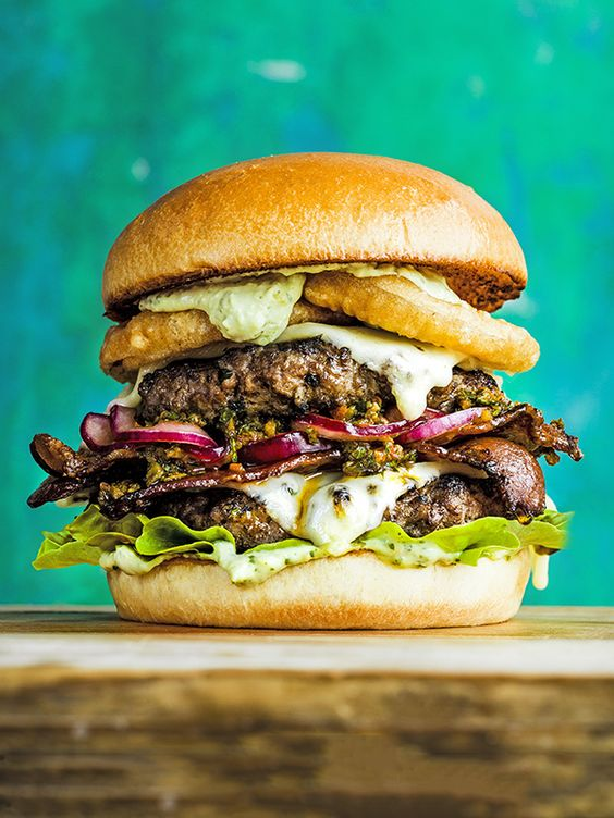 All the flavours of Brazil crammed into one epic mouthful – it's a bit of extra effort but take the challenge and you'll be rewarded with a gold-medal burger.