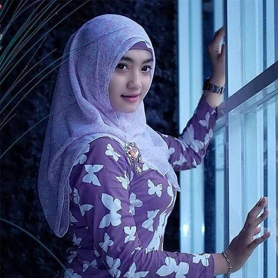 Jual jilbab segi empat di Bangka