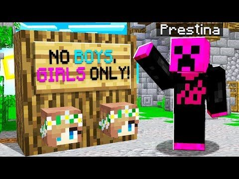 I Went Undercover On A Girls Only Minecraft Server Youtube Minecraft Creations Minecraft Undercover
