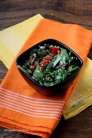 Mango & Tomato: Vegetarian Quinoa Salad Recipe: Eating Healthy Doesn't Mean Bland