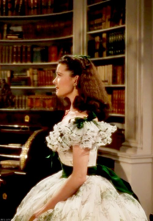 Scarlett o 39 hara vivien leigh and gone with the wind on for Who played scarlett in gone with the wind
