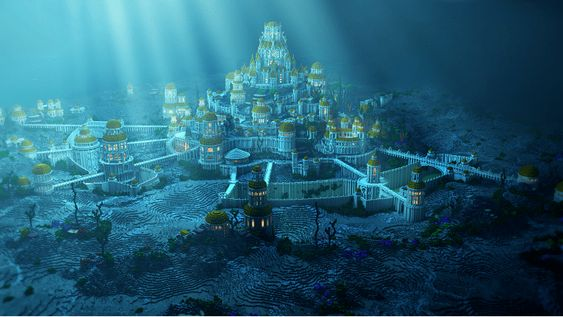 Lost City of Atlantis Discovered in Uptown Pothole