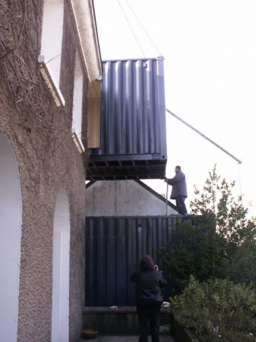 Shipping container extensions google search home for Extension container