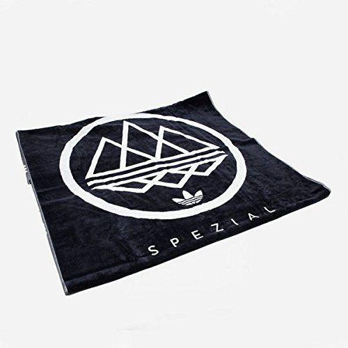 Equipar Auto Sacrificio  Amazon.com: adidas Spezial Original Logo Towel (Night Navy/White, One  Size): Home & Kitchen   Logo towels, Adidas spezial, Navy and white
