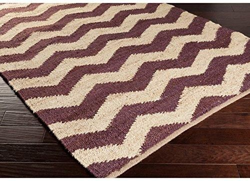Purple Had Woven Chevron Pattern Area Rug 4 X 6 Patterns Zig Zag And Products