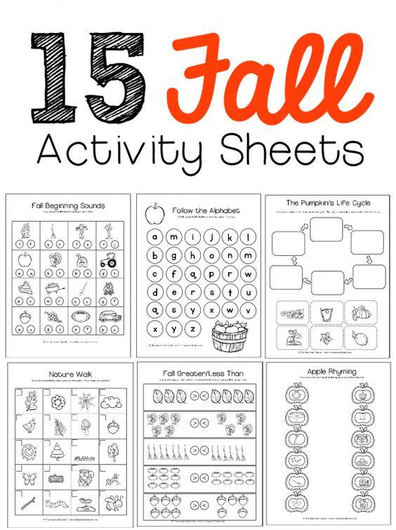 New! Pumpkin, Leaf, and Apple Theme Pack   Pinterest   I want ...