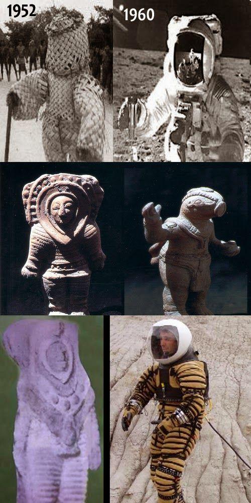 Bep Kororoti, um deus astronauta Erich Von Daniken: