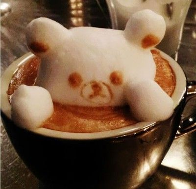 Gourmet Coffee 12 Incredible 3D Latte Arts