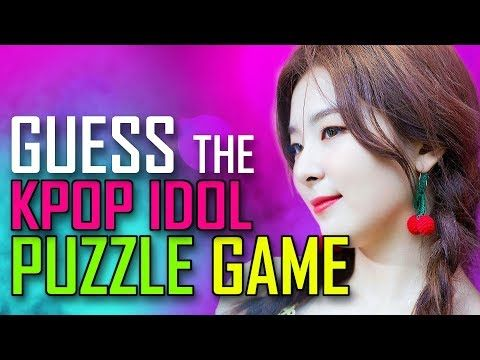 Kpop Game Guess The Kpop Idol Puzzle Version Youtube