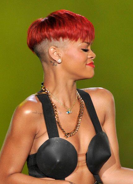 Rihanna Boy Cut