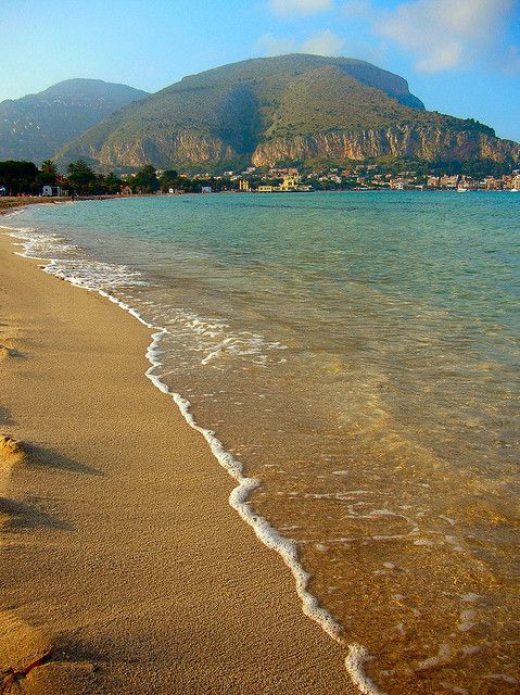 Mondello beach (Palermo) by Giampaolo Macorig, via Flickr