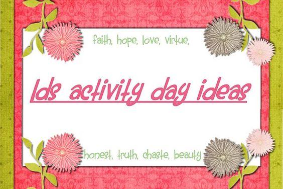 Activity Days Ideas
