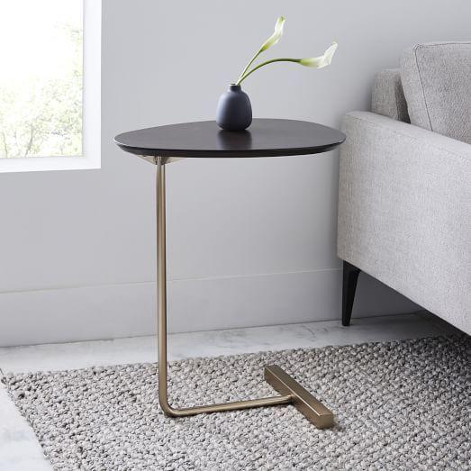 Cube C Side Table White Gray Marble V 2020 G Divan Dlya