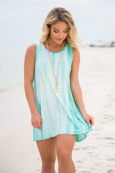 You are practically guaranteed to have fun in the summer sun while wearing this dress! The tank fit is so casual and the super soft material makes it so comfy! We love that you can pair this sandals just as easily as you can with wedges! A girl likes to have options!