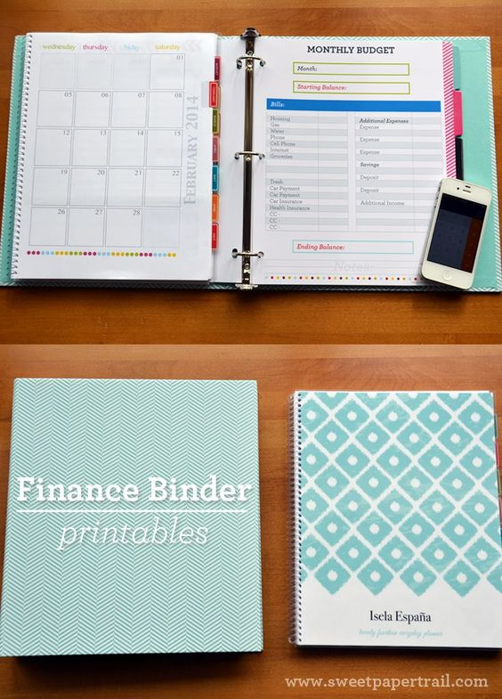 I'm no newbie to using binders to organize the paper clutter at home.  Last year I shared with you how I used a Family Organization Binder to keep all my household papers in order.  This year as we moved from one home to another, I realized that my finances were not as organized as I …