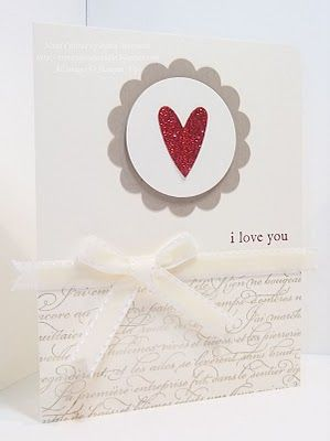 SSU Heart Script by Princessforj - Cards and Paper Crafts at Splitcoaststampers