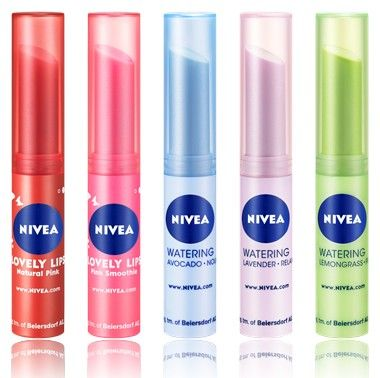 Nivea - Lip Balm (Strawberry):
