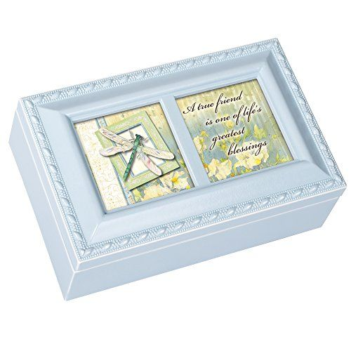 Cottage Garden Eagle Woodgrain Traditional Music Box Plays Wind Beneath My Wings