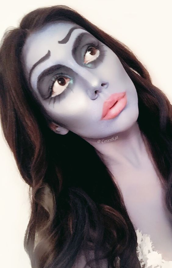 Halloween Look 1 Corpse Bride I hope I can get more characters done before the big day  Ig: @covenKat