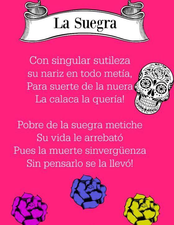 Las mejores #CalaveritasLiterarias, ideales para dedicar y compartir con tus seres queridos.