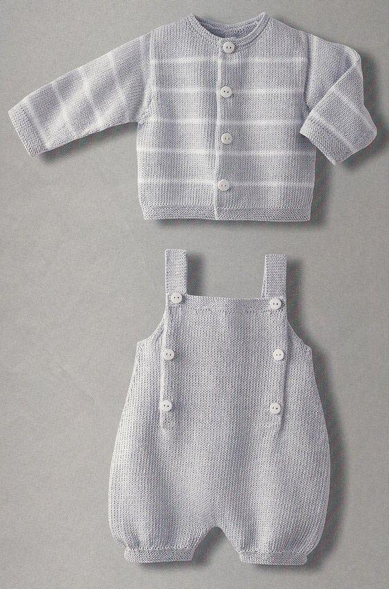 Knitting Patterns Phildar : DA PHILDAR N.017 modello 13 CARDIGAN misure 3-6-12-18-24 mesi da 3 a 5 gomito...