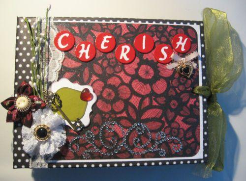 TPHH Premade Mini Album Cherish Handmade Scrapbook for Photos Valentines Day | eBay