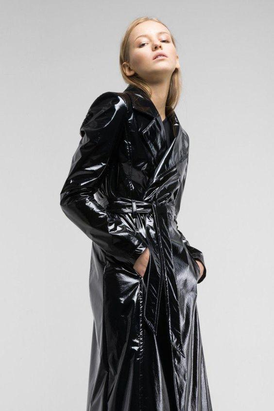 Raincoats For Women Stitches #BuyWomensRaincoatNz  #VinylRaincoat