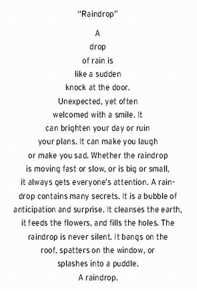 Raindrop: