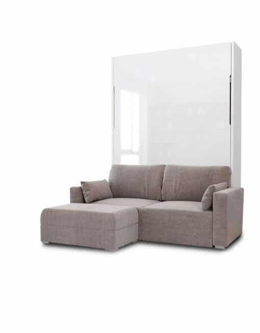 Murphysofa 100cm Wide Shallow Depth Cupboard In 2020 Murphy Bed With Sofa Murphy Bed Sofa Wall Bed