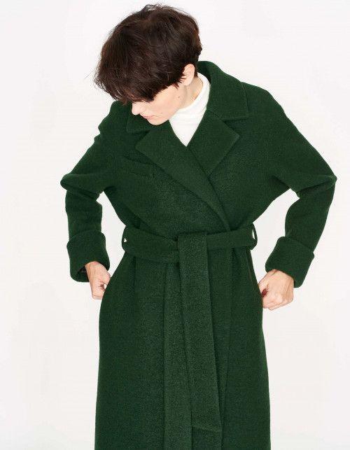 Wełniane płaszcze | Mantel Outfits Frauen | Mantel outfit
