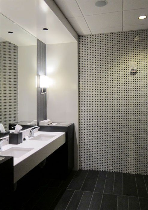 Modern Public Bathroom Design Ideas | mimari | Pinterest ...