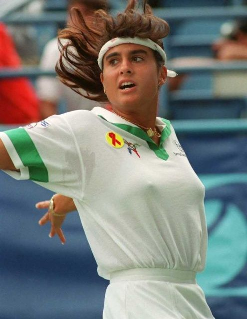 Not gabriela sabatini nude valuable