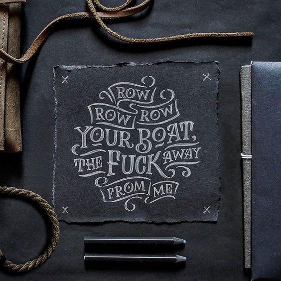 """Row, row, row your boat..."" by Abed Azarya"