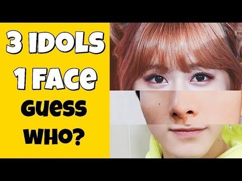 Guess The Idols 3 Idols In 1 Face Youtube Face Idol Guess