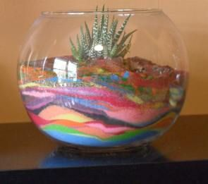 DIY How to Color Sand and Make Art in Mason Jars Tutorial | Put it in a Jar
