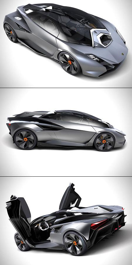 Lamborghini Perdigon Unveiled, is Jet Fighter-Inspired: