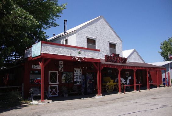 Morgan's Store and Post Office, Ellsworth