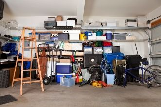 Fall Garage Storage and Organization
