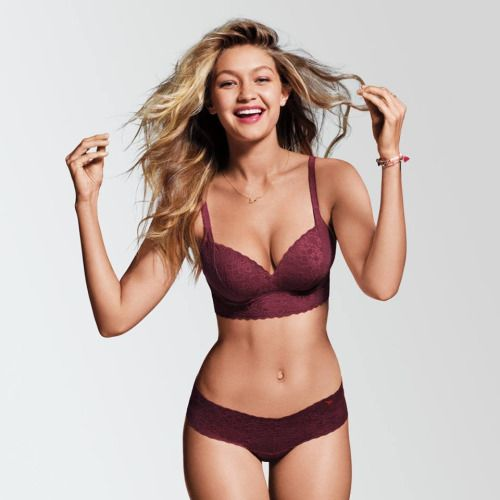 Gigi for VS Pink | Bra-Underwear-Sleepwear III | Pinterest | Vs pink ...