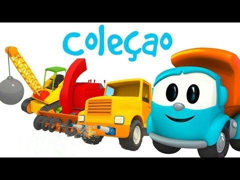 Leo O Caminhao Curioso Desenhos Animados De Carros Youtube