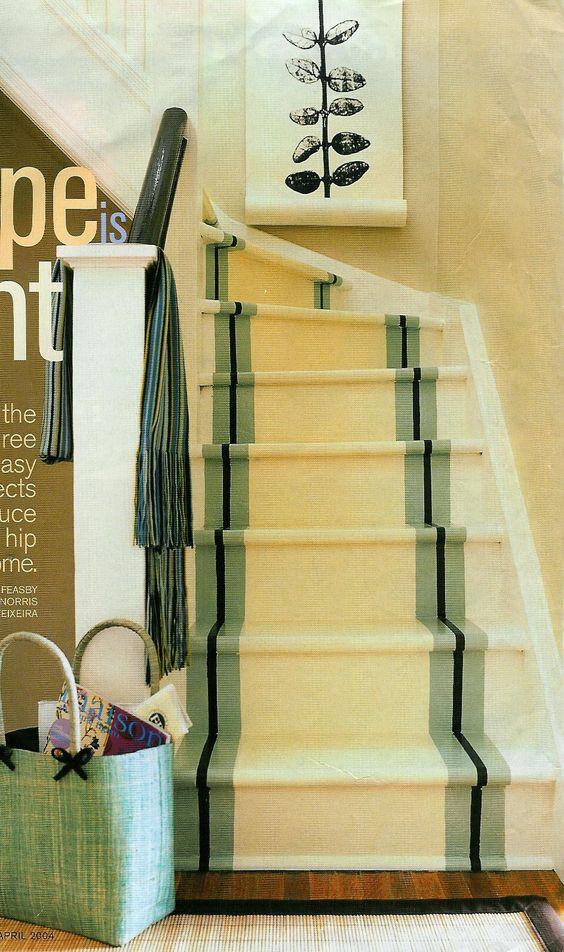 Escaleras pintadas, escalera and corredores on pinterest