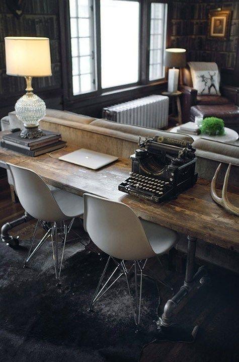 Cómo incorporar un espacio de trabajo en el salón | Decorar tu casa es facilisimo.com