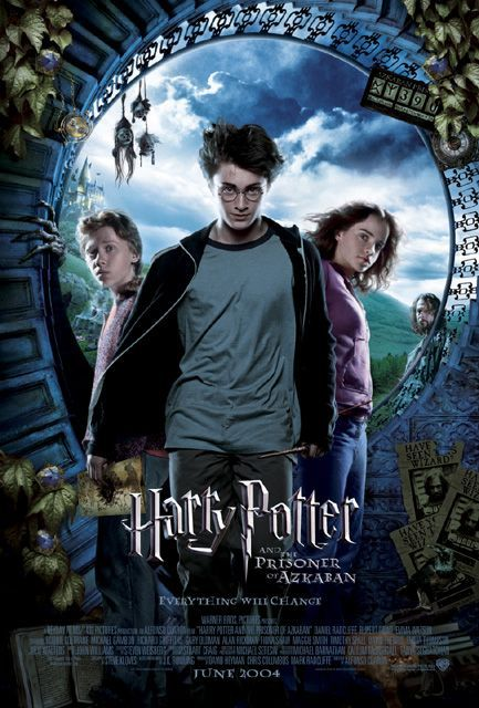 Harry Potter and the Prisoner of Azkaban movie poster. This has to be my favorite movie