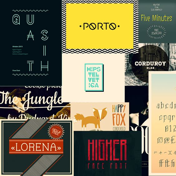 20 FREE FONTS http://chocoladesign.com/20-free-fonts-para-ter-na-sua-colecao
