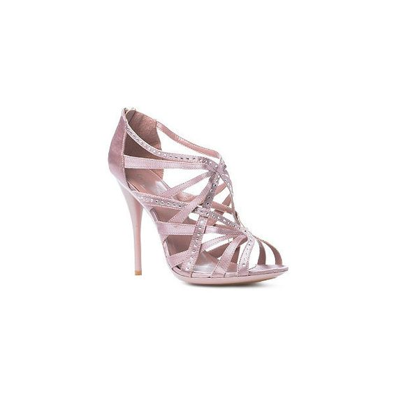 Strappy Heel Sandals ❤ liked on Polyvore