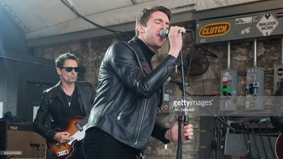 Dr. Pepper's Jaded Hearts Club Band featuring Matt Bellamy (L) and Miles Kane perform live on stage during Rachael Ray's Feedback Party at SXSW on March 17, 2018 in Austin, Texas.  (Photo by Jim Bennett/WireImage)