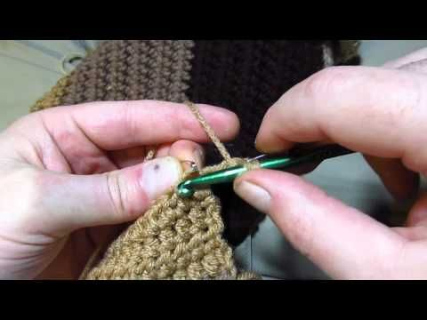 Avoid Increasing When Turning Crochet Rows - YouTube